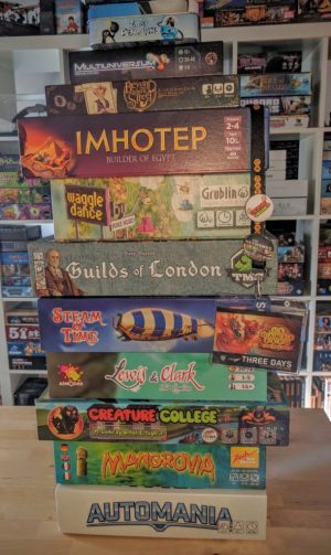 UK Games Expo 2016 - Haul of Games