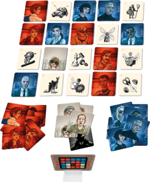 Codenames: Pictures - Components