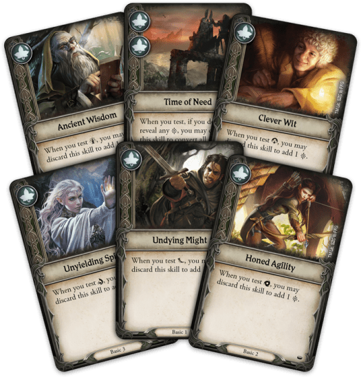 The Lord of the Rings Journeys in Middle-earth - Cards
