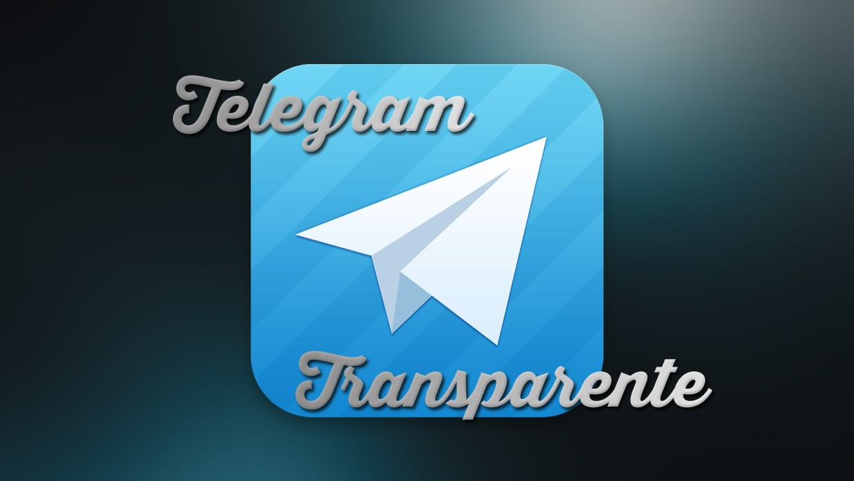 Telegram Transparente V2.9.1 Apk