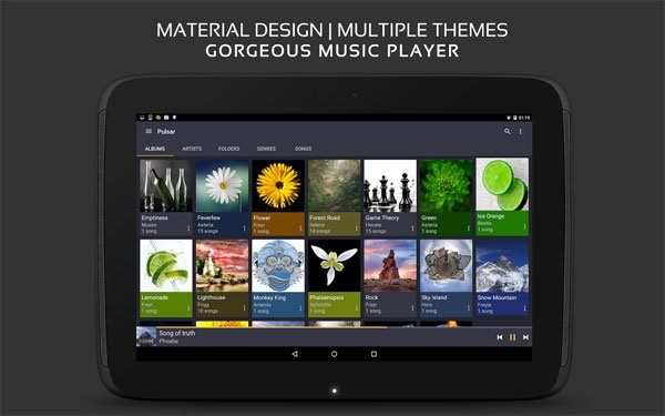 Pulsar Music Player Pro v1.3.9 Anddroid APK