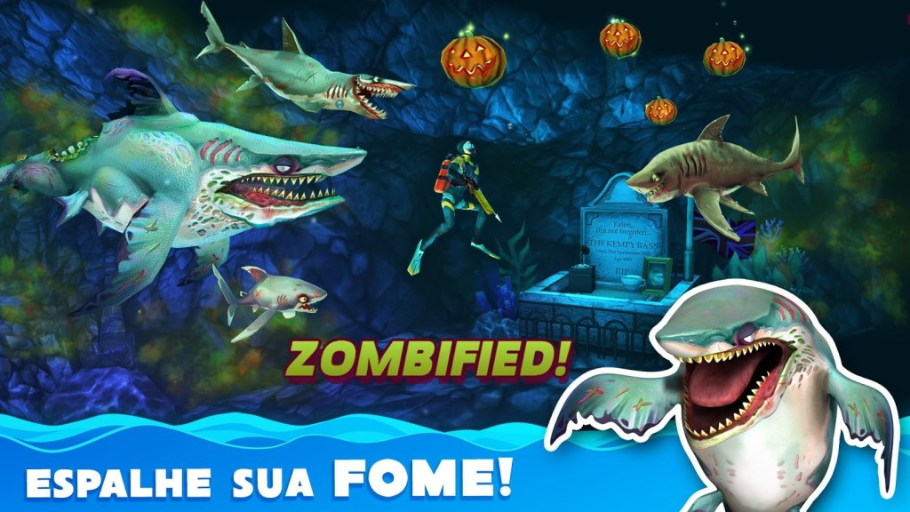 Hungry Shark World v1.6.0 APK MOD