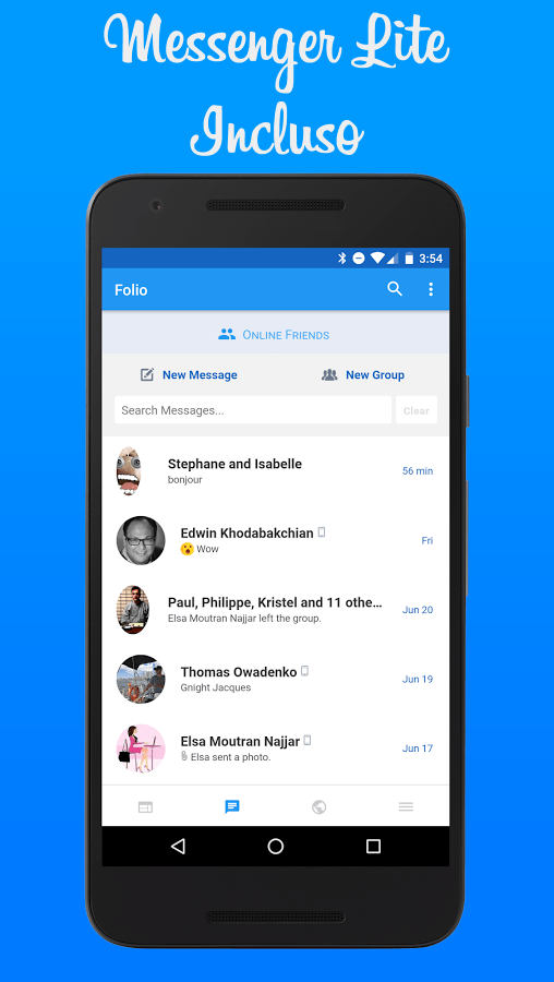 Folio 2 for Facebook & Messenger Premium