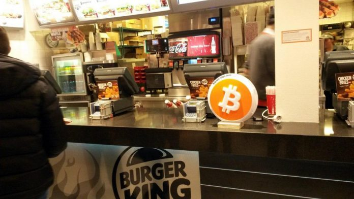 burger king bitcoin