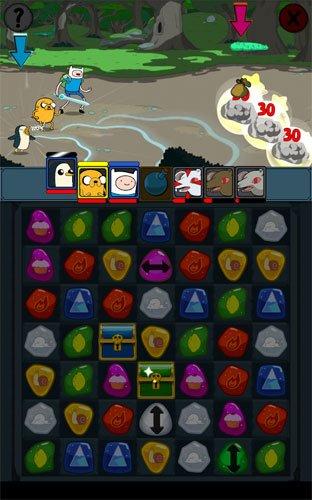 Adventure Time Puzzle Quest Download Android