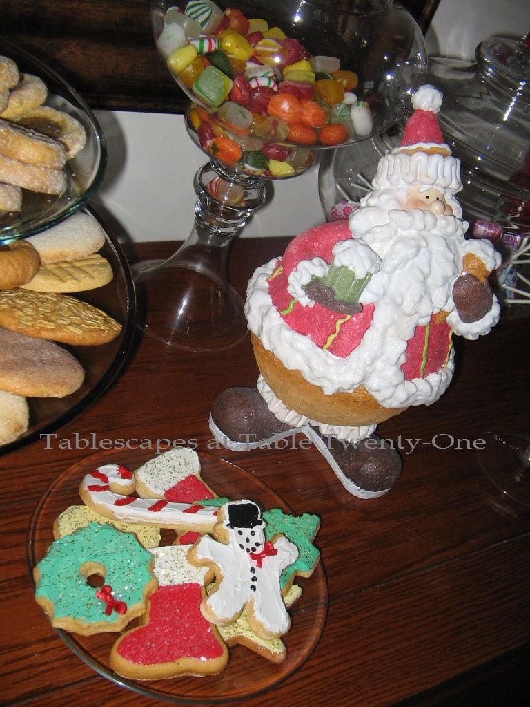 santa hat chair back covers hobby lobby office under 300 sugar high (payback!) | tablescapes at table 21