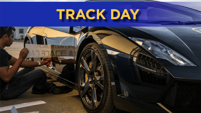 Track Day Poster