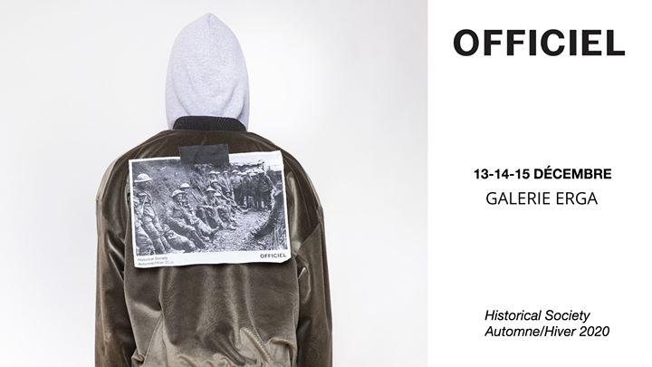Pop up Officiel - Automne/Hiver 2020 - 13 au 15 décembre @ Galerie ERGA | Montreal | QC | Canada