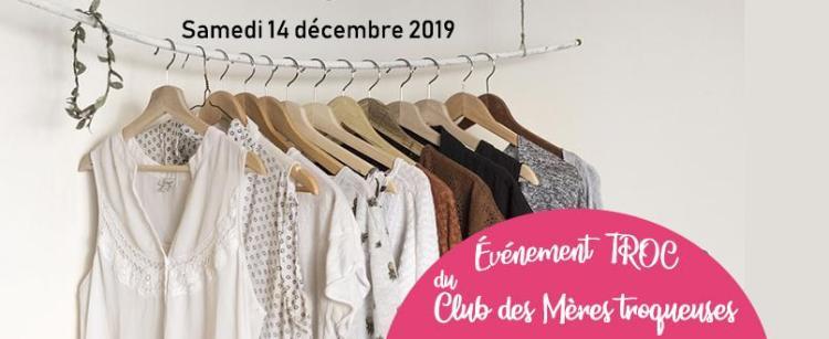 [étape 1] MÈRES TROC | Vêtements Hiver enfant & femme | Samedi 14 décembre 2019 @ Centre communautaire Paul-Émile-Lépine | L'Île-Perrot | QC | CA