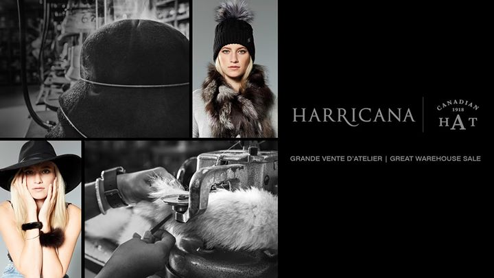 Découvrez l'atelier Harricana & Canadian Hat @ 4810 JEAN-TALON W. #409