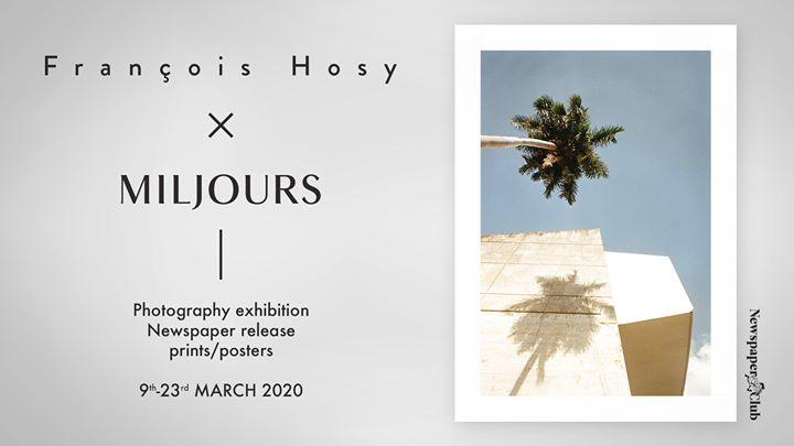 François Hosy chez Miljours Studio : Newspaper serie @ Miljours Studio | Montreal | QC | Canada
