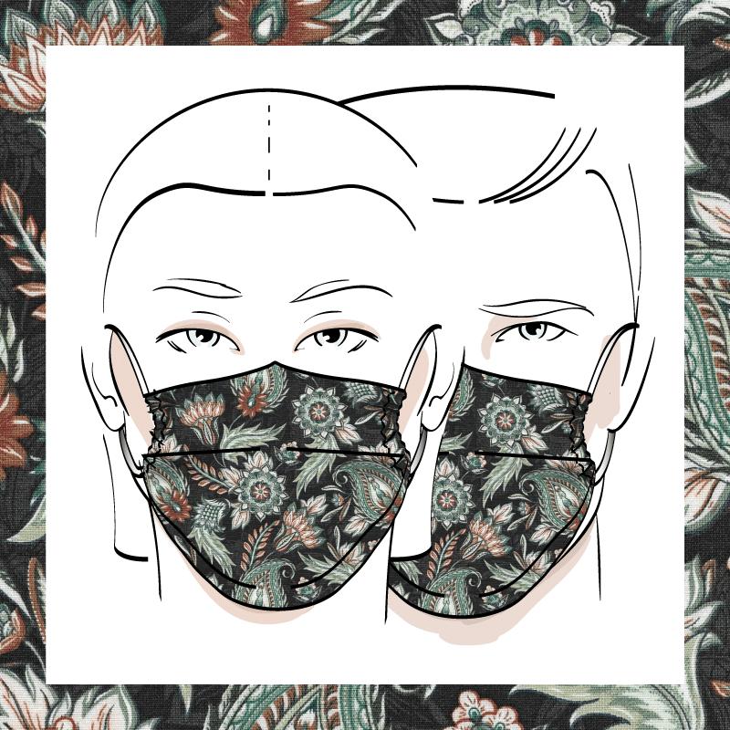 Couvre-visage 3 épaisseurs | Le 237
