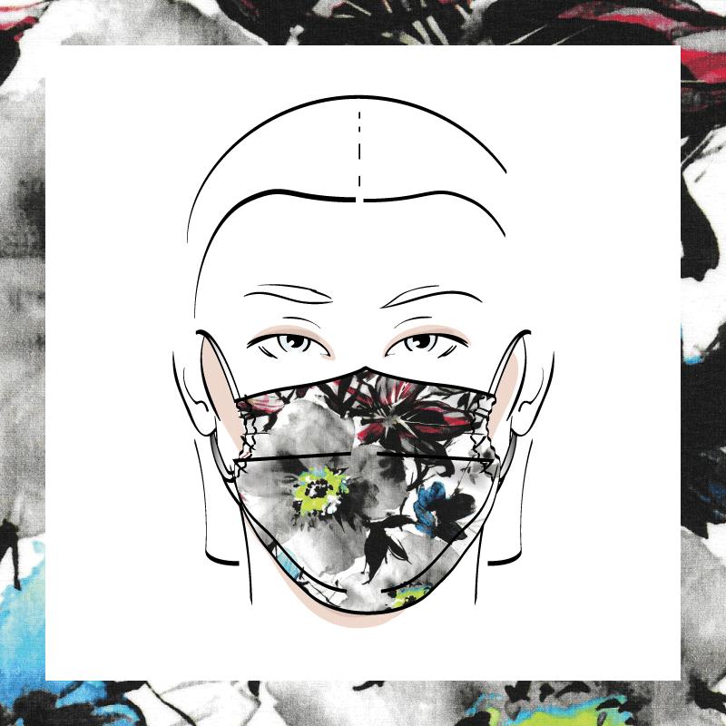 Couvre-visage 3 épaisseurs | Le 238