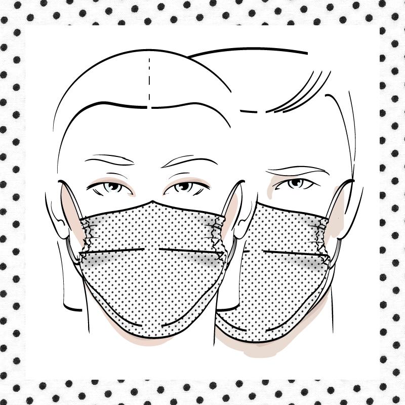 Couvre-visage 3 épaisseurs | Le 339