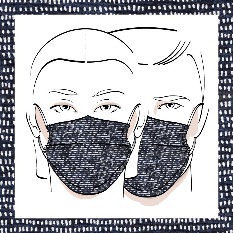 Couvre-visage 3 épaisseurs | Le 371