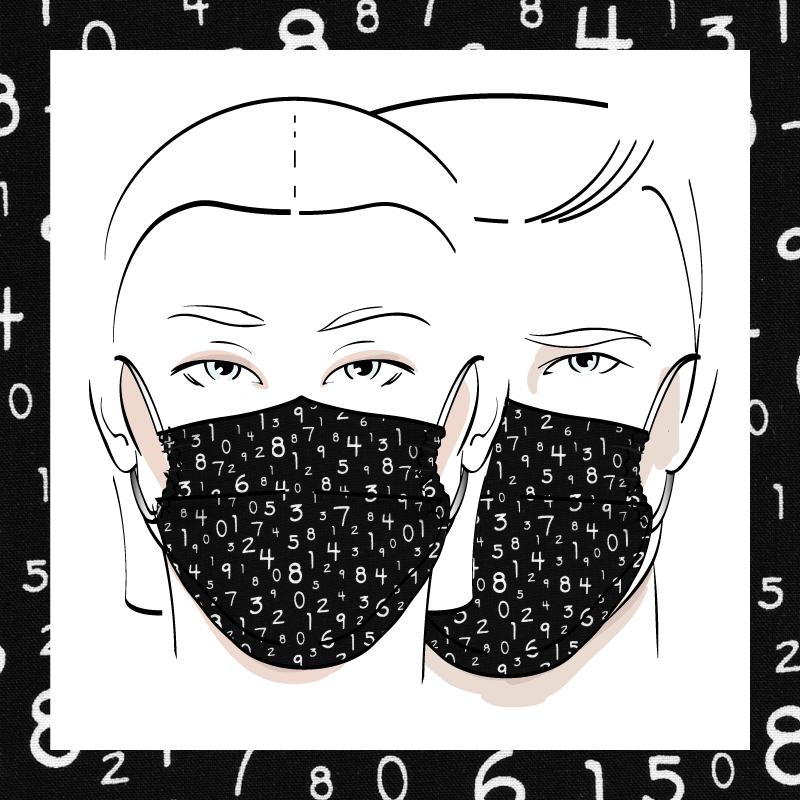 Couvre-visage 3 épaisseurs | Le 372