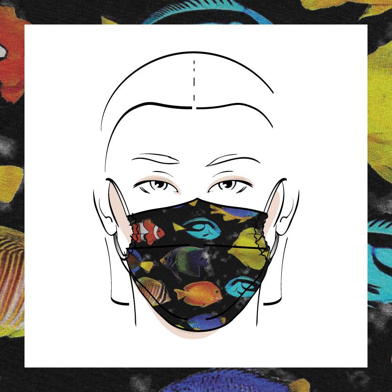 Couvre-visage 3 épaisseurs | Le 378