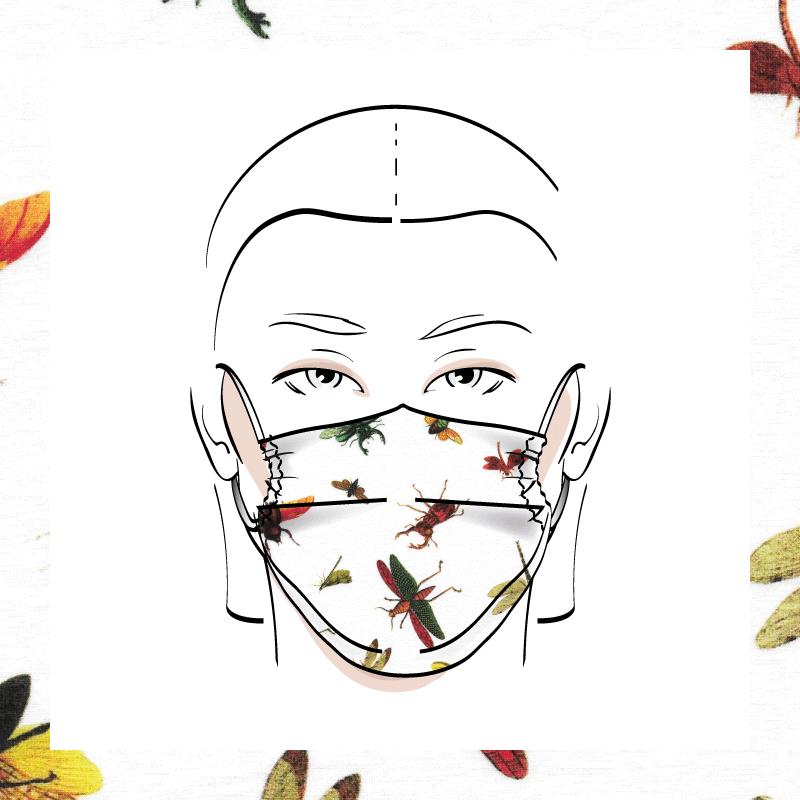 Couvre-visage 3 épaisseurs | Le 386
