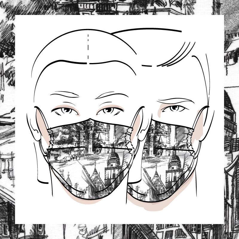 Couvre-visage 3 épaisseurs | Le 387