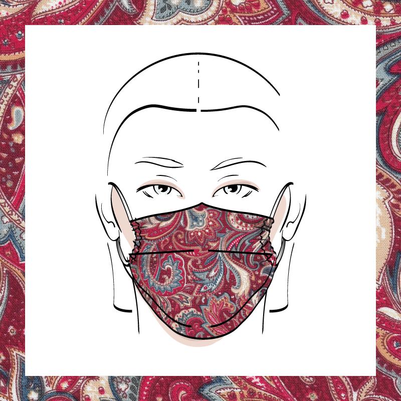 Couvre-visage 3 épaisseurs | Le 391