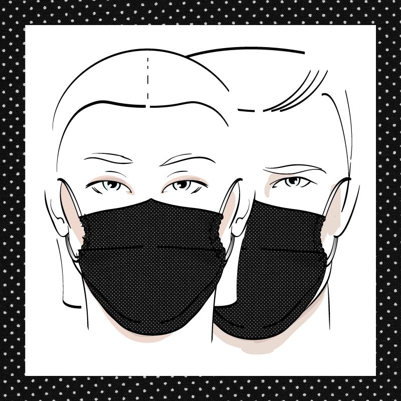 Couvre-visage 3 épaisseurs | Le 403