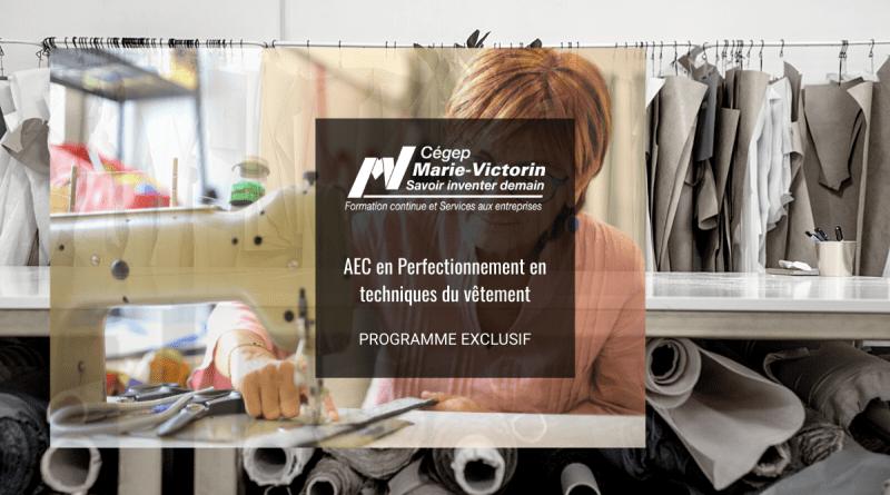 AEC Technique du vêtement Cégep Marie-Victorin