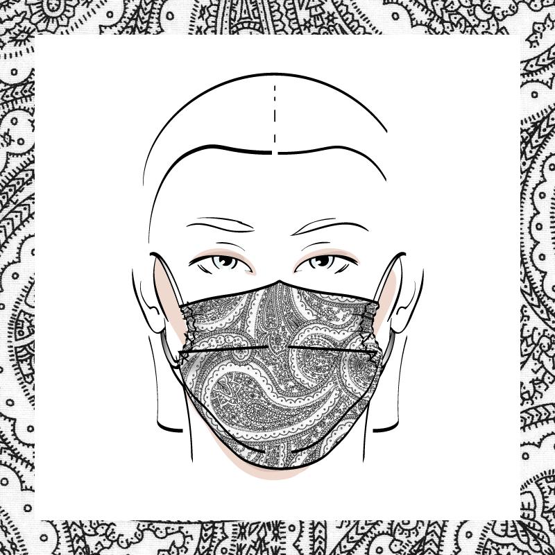 Couvre-visage 3 épaisseurs | Le 411