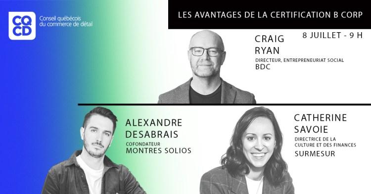 Les avantages de la certification B Corp @ Quebec Canada   Montreal   QC   Canada