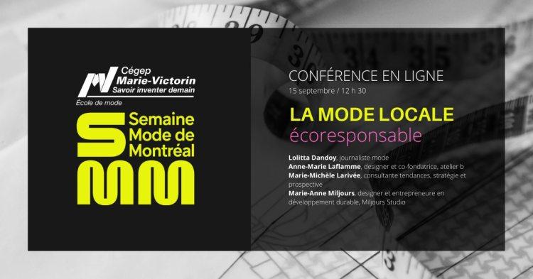 Mode Marie-Victorin X La mode locale écoresponsable @ Montréal