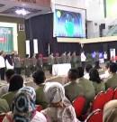 Mahasiswa UPN Veteran Demo Deklarasi Zona Integritas Wilayah Bebas Korupsi