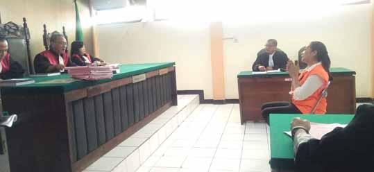 Hakim Tolak Permohonan Penahanan Maria Purbowati