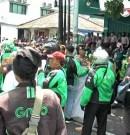 Demo OJOL dan TAXOL Diwarnai Aksi Sweeping
