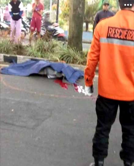 Mahasiswa Unitri Meninggal di Jalan Raya Sawojajar