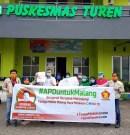 Moreno Soeprapto Salurkan Bantuan APD dan Sembako di Malang Raya
