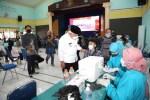 Bupati Sanusi Apresiasi Semangat Pelajar SMKN 1 Singosari Ikut Vaksin