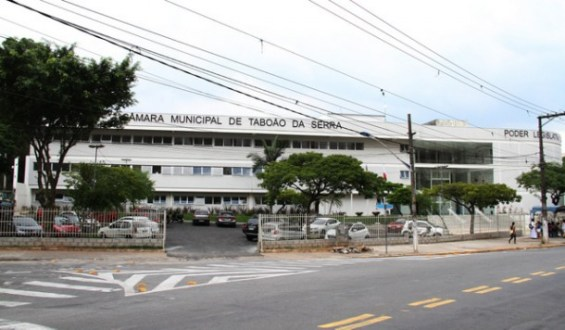 Câmara Municipal de Taboão da Serra retoma sessões legislativas às 10h de terça. (Cynthia Gonçalves / CMTS)