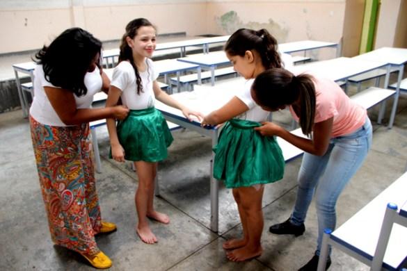 Escolas Municipais de Taboão estão se preparando para o Desfile de 7 de Setembro na Avenida Fernando Fernandes (Foto: Charles Eliseu / PMTS)