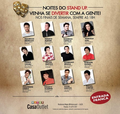 Stand Up CasaOutlet Taboao