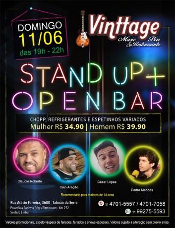 Cartaz Stand Up 02 Vinttage