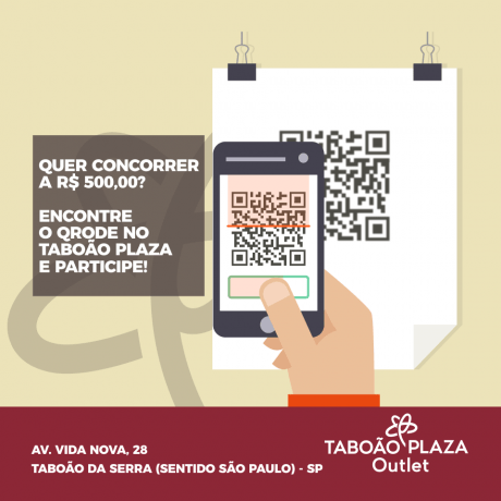 Promocao Taboao Plaza Outlet