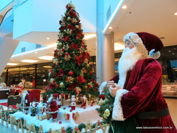 Decoracao de Natal do Taboao Plaza Outlet