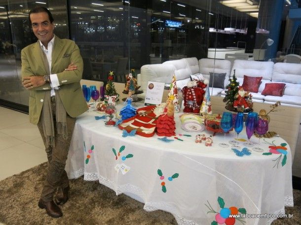 Fabio Arruda decora mesa exclusiva para o Taboão Plaza Outlet