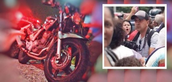 Gabriel Binho foi alvo de atentado em Embu das Artes. (Foto: Reprodução)
