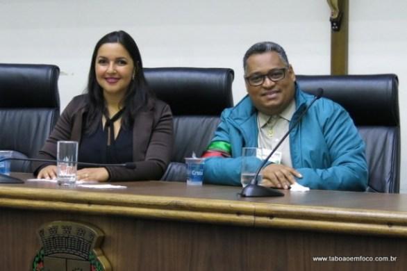 Joice Silva recebe a solidariedade de Sousa Santos e a Coordenadoria da Promoção da Igualdade Racial de Taboão da Serra.