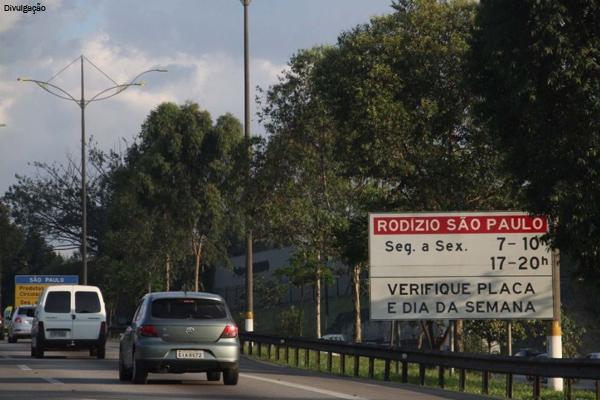 Rodízio volta a vigorar na capital paulista