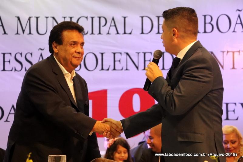 Fernando Fernandes e Marcos Paulo tiveram reunião para discutir orçamento