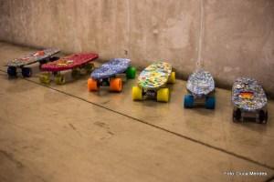 Oficina de Shape de Skate Reciclado no Sesc Campo Limpo