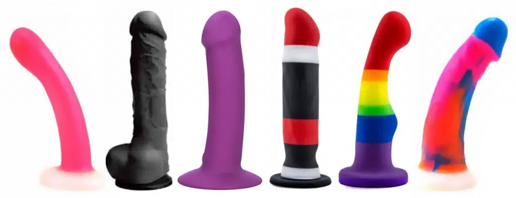 Necessary dildo with cam attached very