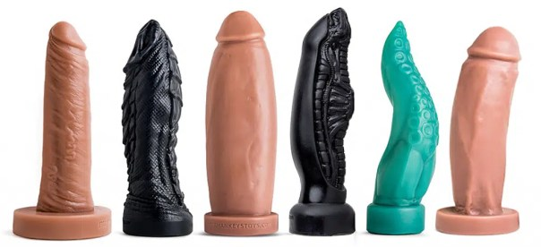Large sex toys
