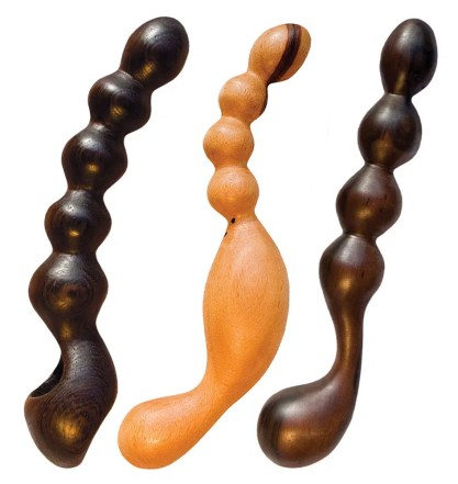 NobEssence Wooden Anal Beads